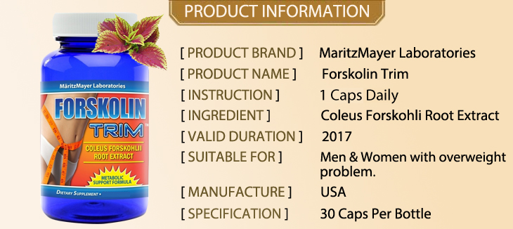 Forskolin Trim 10%