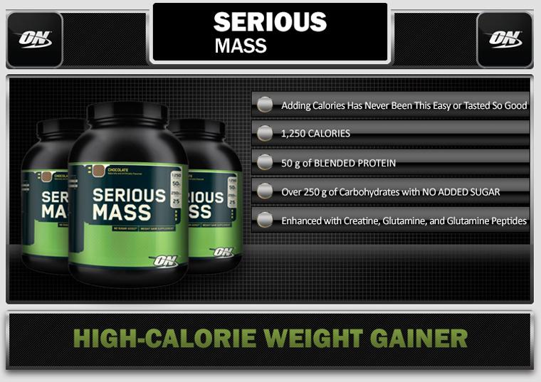 Serious Mass de Optimum Nutrition