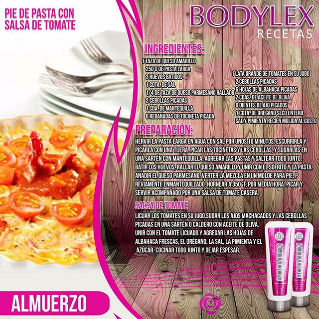 bodylex dieta recetas