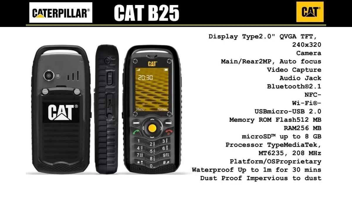 Cat B25 celular