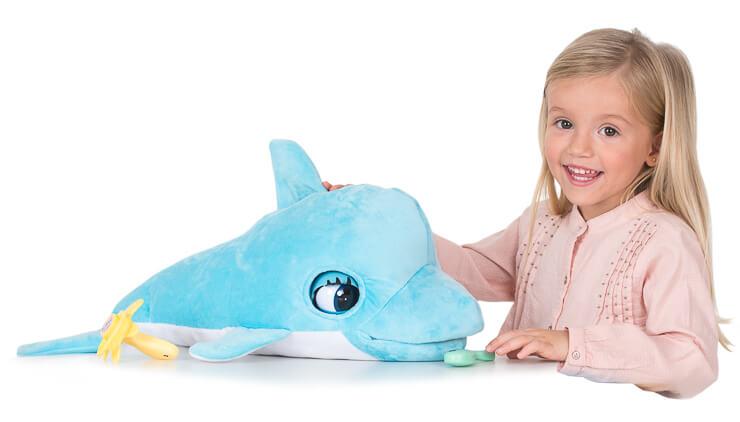 delfin blu blu amigo