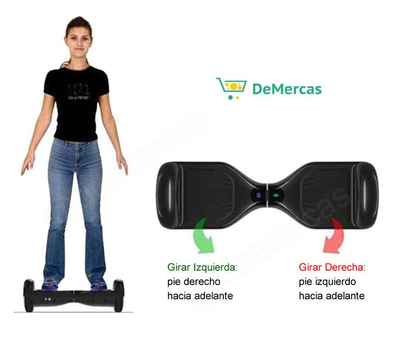 patineta scooter balance uso
