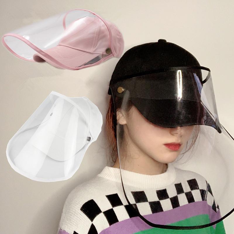 gorra con careta deproteccion